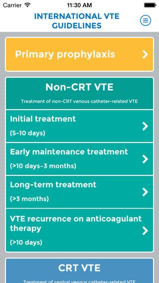 International VTE Cancer Guidelines