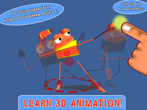 Animate Me! 3D Animation For Kids screenshot