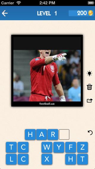 【免費遊戲App】Who am I? Ultimate Football Pro Quiz: Guess the Soccer Legends - Big Picture Puzzle Game for EPL 2014-15 edition-APP點子