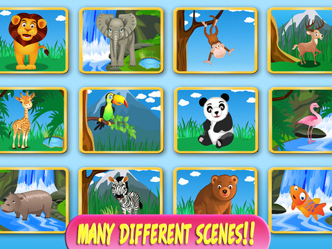 Draw Animals: Connect The Dots for Kids - Learn Numbers & Alphabetscreeshot 3