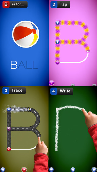 LetterSchool Free - learn to write letters and numbers