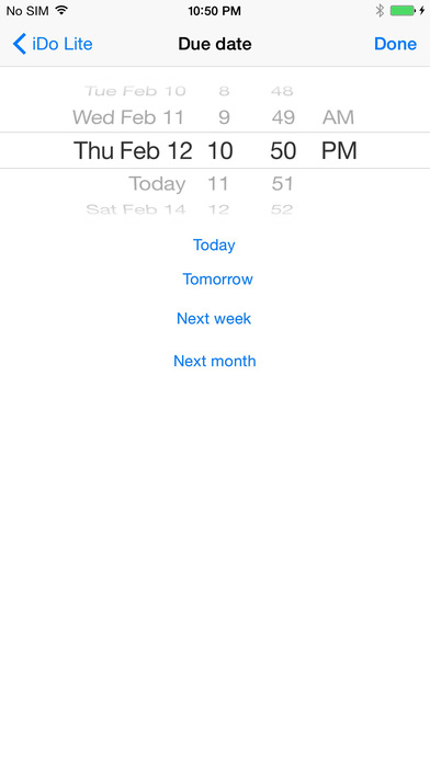 iDo Lite iPhone Screenshot 4