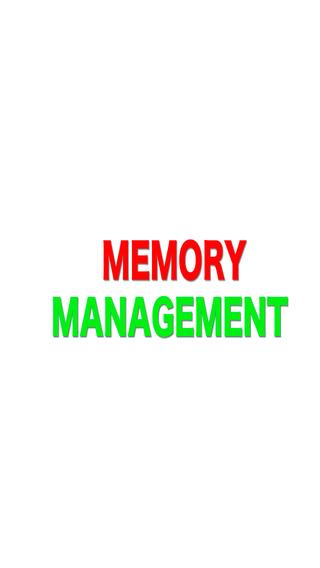 Memory Management - Tips