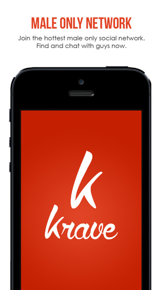 Krave – gay bi curious men's meetings app