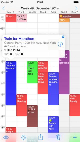 Week Calendar – 周历[iPhone]丨反斗限免
