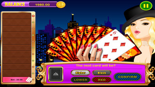 All In Jewel Win Lucky Jackpot High-Low (Guess the Next Card )Casino Dash Games Pro