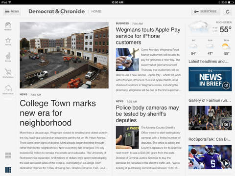 Democrat Chronicle for iPad