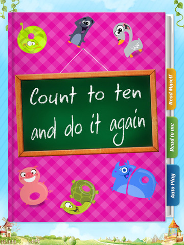 Count to Ten and Do it Again - Have fun with Pickatale while learning how to read