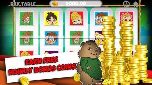 Cute Slots - Chipmunks version