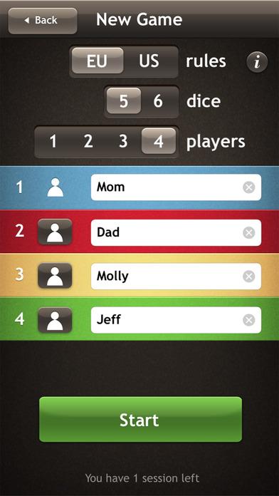 Yatzy iPhone Screenshot 4