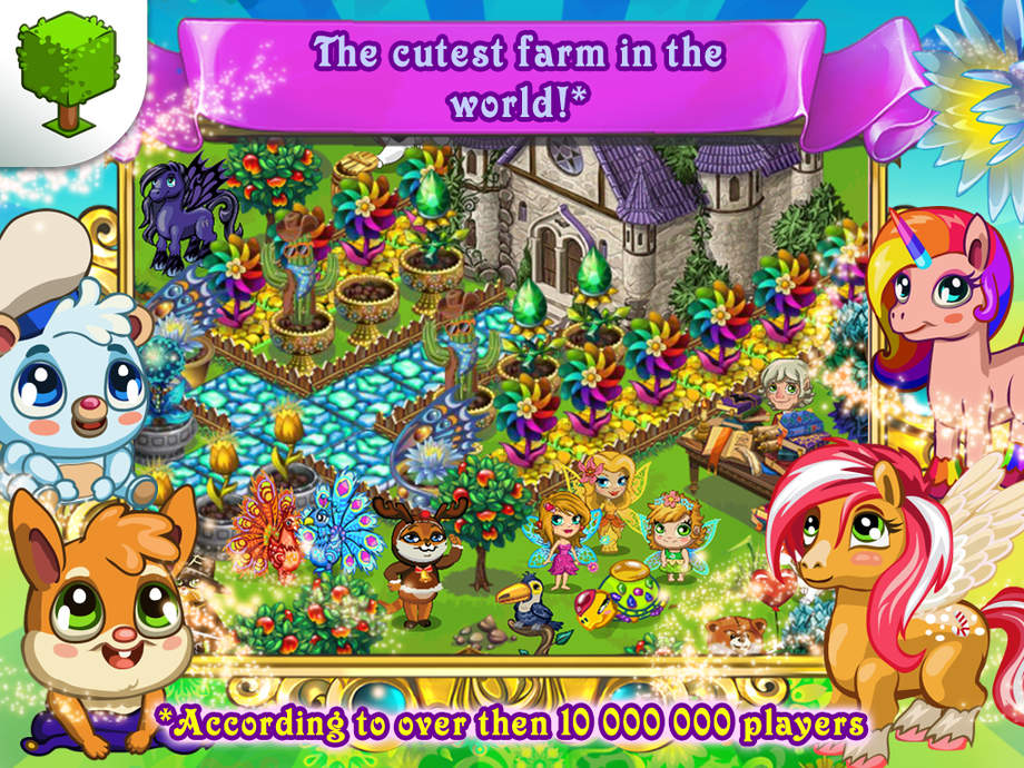 Fairy Farm - iPhone Mobile Analytics and App Store Data