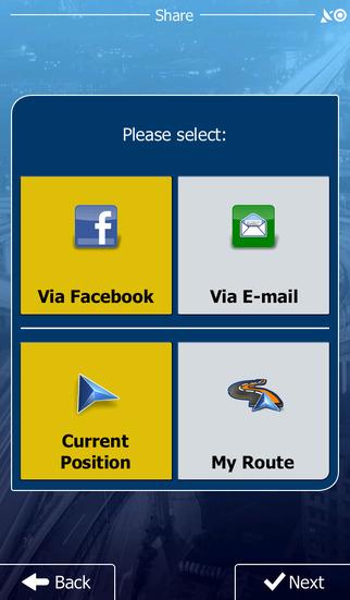 Europe - iGO primo app Screenshot 3