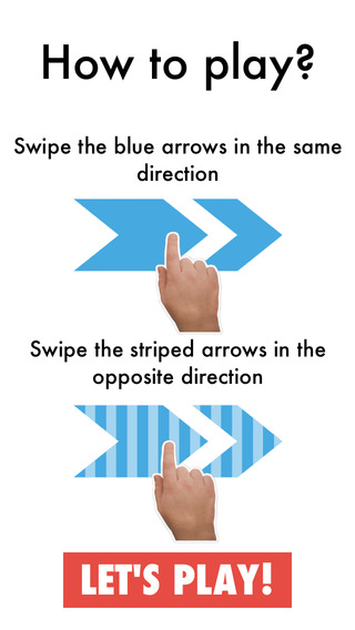Arrow Swiping