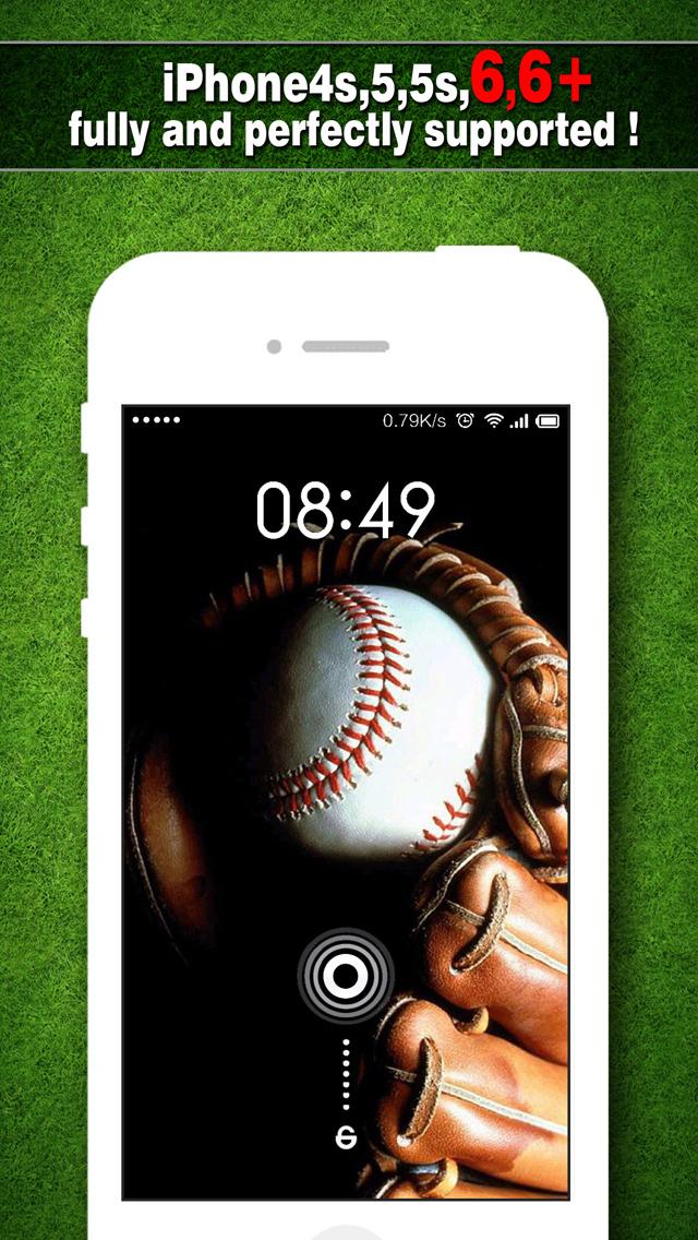 App shopper baseball wallpapers pro backgrounds home for Wallpaper home pro