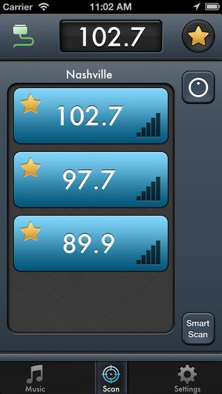 iTrip Controller iPhone Screenshot 2