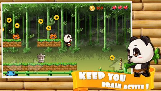 Panda Bamboo - Best Jungle Running Game