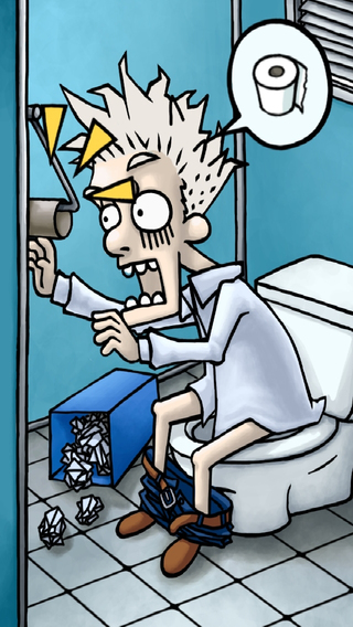 Breaking Bathroom Flow