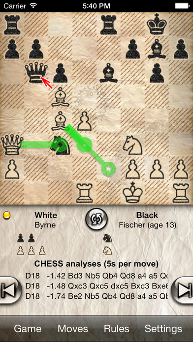 Screenshots of Chess Pro - with coach for iPhone