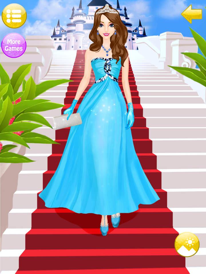Princess Royal Fashion Salon Dress Up Makeup Apprecs
