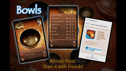 Bowls - Authentic Tibetan Singing Bowls screenshot 3