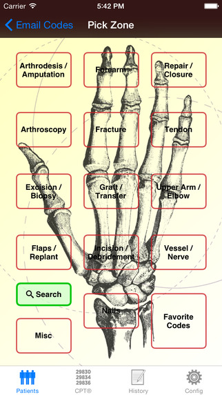 Mobile Coder Hand Wrist