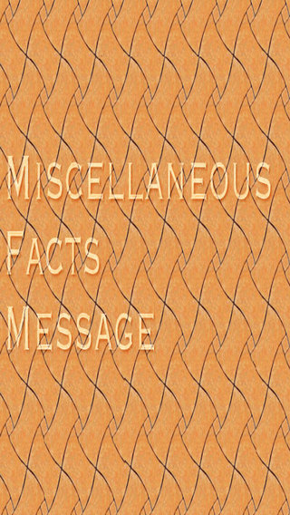 Miscellaneous Facts Images Messages Latest Facts General Knowledge Facts