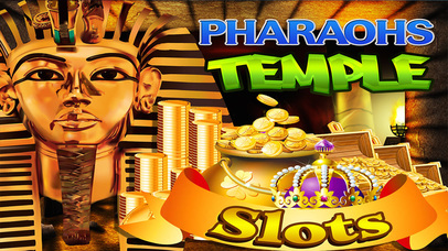 Screenshot 1 Фараоны Слоты Храм — Бесплатный Древняя Казино Слот-машина