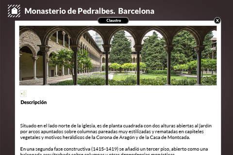 Monasterio de Pedralbes screenshot 3