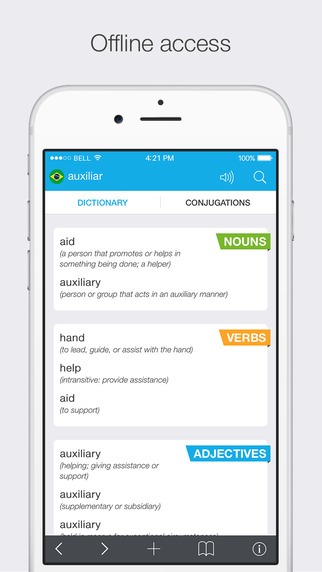 Translations: Brazilian - English Dictionary