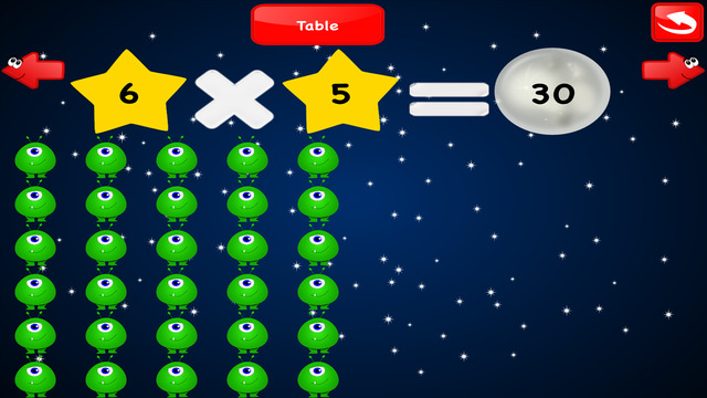 Multiplication games math free times tables quiz trainer - Multiplication table games online free ...