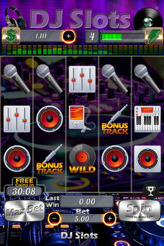 ``` AAA DJ Slots screenshot 2