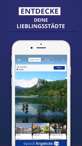 Slowenien - dein Reiseführer mit Offline Karte von tripwolf Guide für Sehenswürdigkeiten Touren und
