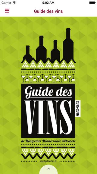 Guide des Vins de Montpellier Méditerranée Métropole