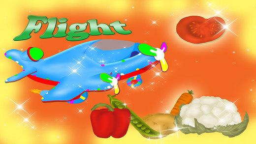 Veg Flight Magical Vegetables Game