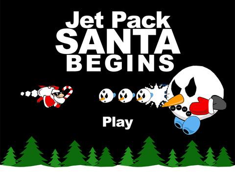 Jet Pack Santa Begins