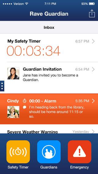 【免費生活App】Rave Guardian-APP點子
