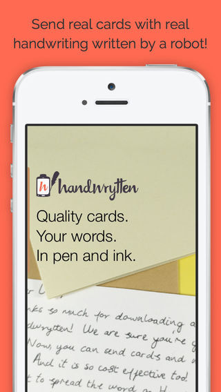 Handwrytten Thank You Notes Greeting Cards