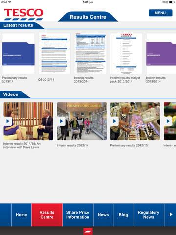 Tesco PLC Investor Relations
