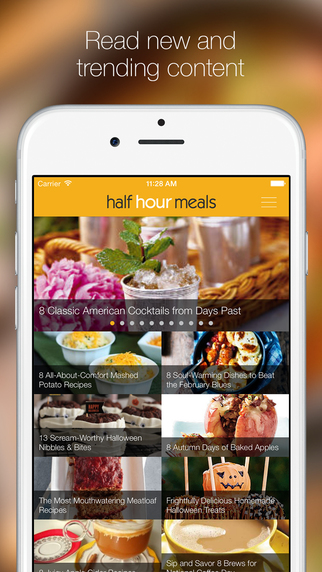 Half Hour Meals - Quick Easy Recipes