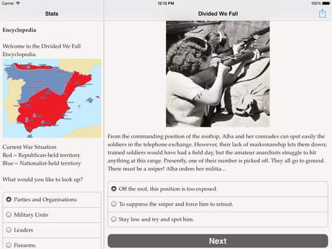 Divided We Fall для iPad
