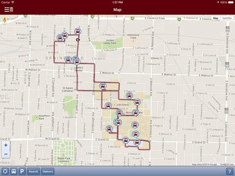 MSU Mobile iPad Screenshot 2