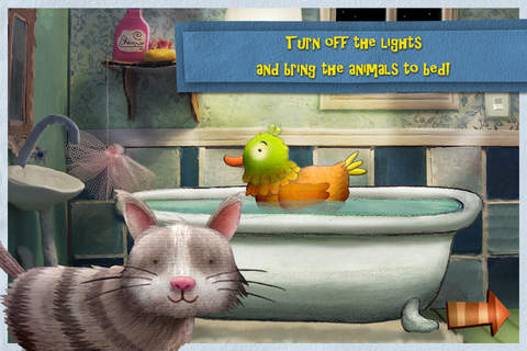 iphone Nighty Night! - The bedtime story app for children Screenshot 1