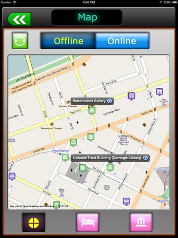 免費下載旅遊APP|Pittsburgh Offline Map Travel Guide app開箱文|APP開箱王