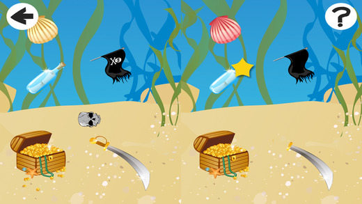 Adventure Kids Game in the Ocean for Children to Learn