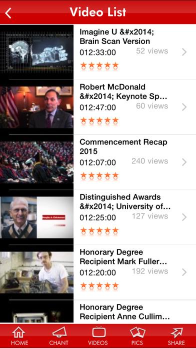 University of Utah iPhone Screenshot 2