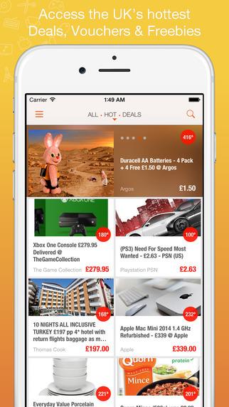 DealPad - Bargains Freebies Vouchers from HotUKDeals