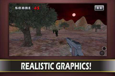 Alien Zombie Sniper Attack -  3d First Battle-field  Person Survival Shooter (FPS) screenshot 3