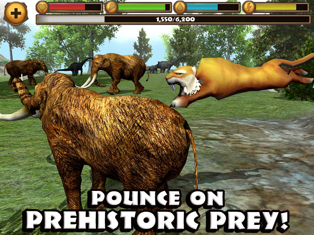 App shopper sabertooth tiger simulator games