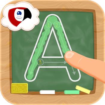 Alphabet Learn Write Letters - Macaw Moon LOGO-APP點子