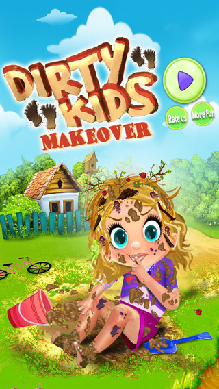 Dirty Kids Makeover And Dress Up